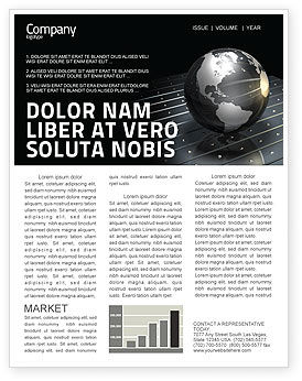 Global: Globe Of Steel Newsletter Template #03141