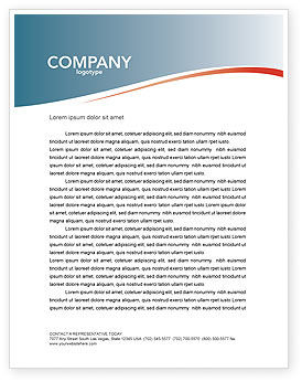 Expressing Opinion Letterhead Template, 03145, Consulting — PoweredTemplate.com