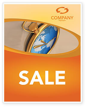 Business Concepts: Clocks Sale Poster Template #03146