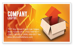 Careers/Industry: Shipment Business Card Template #03152