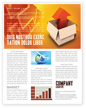Careers/Industry: Shipment Newsletter Template #03152