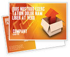 Careers/Industry: Shipment Postcard Template #03152