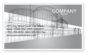 Construction: Bouwontwerp Visitekaartje Template #03154