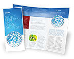 Medical: Petri Dish Brochure Template #03156
