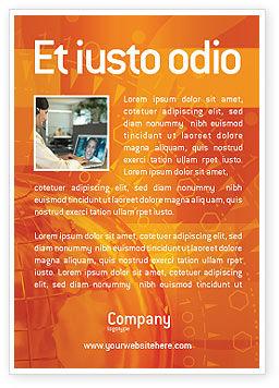 Global: Wide World Business Advertentie Template #03159