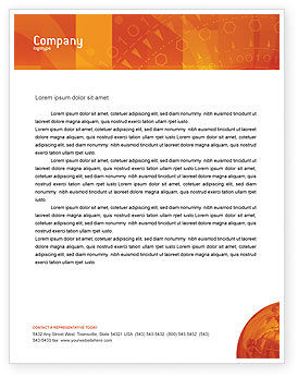 Global: Wide World Business Letterhead Template #03159