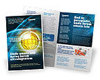 Telecommunication: Modello Brochure - Mondo online #03166