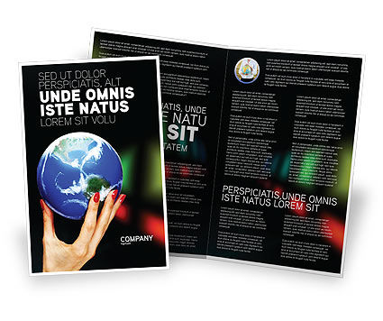 Global: Global Power Brochure Template #03167