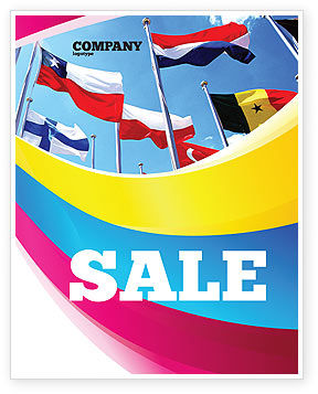 United Nations Sale Poster Template