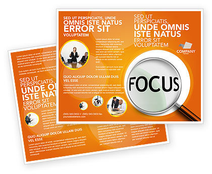 Consulting: Focus Brochure Template #03176