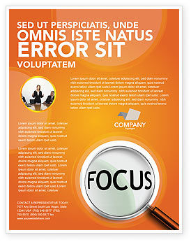 Consulting: Focus Flyer Template #03176