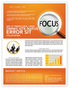 Consulting: Focus Newsletter Template #03176