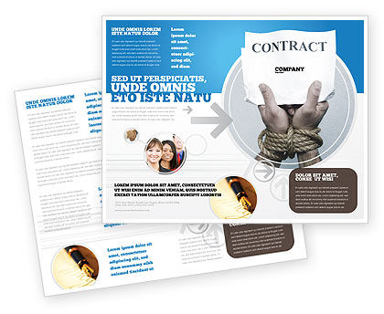 Contract Brochure Template