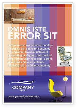 Art & Entertainment: Comfort Ad Template #03182