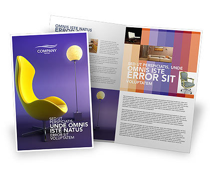 Art & Entertainment: Comfort Gratis Brochure Template #03182