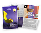 Art & Entertainment: Comfort Brochure Template #03182