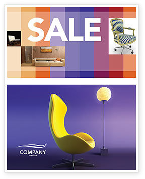 Comfort Sale Poster Template, 03182, Art & Entertainment — PoweredTemplate.com