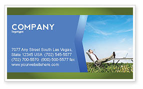 Technology, Science & Computers: Ecological Environment Business Card Template #03184