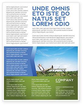 Technology, Science & Computers: Modèle de Flyer de environnement écologique #03184