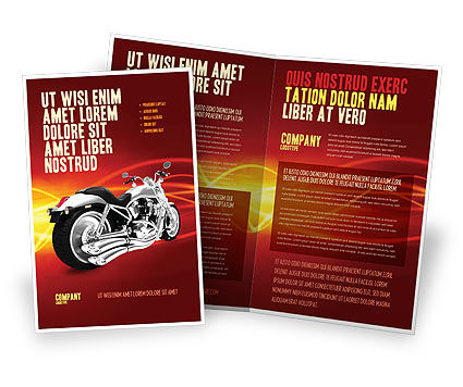 Bike Brochure Template