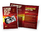 Cars/Transportation: Bike Brochure Template #03188