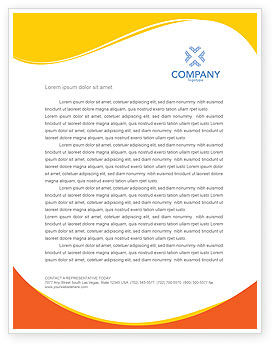 Medical: Colored Pills Letterhead Template #03191