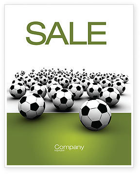 Sports: Football Championship Sale Poster Template #03192