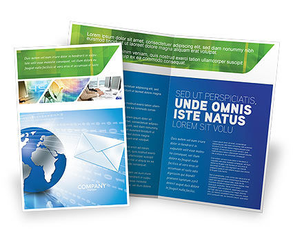 Global: Post Brochure Template #03193