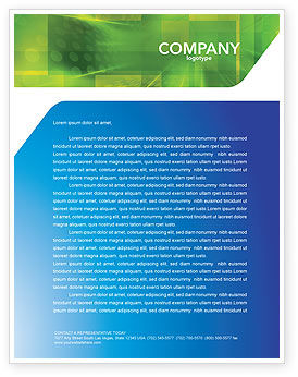 Global: Post Letterhead Template #03193