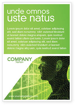 Technology, Science & Computers: Plantilla de publicidad - inteligencia artificial #03201