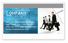 Career Opportunities Business Card Template, 03205, Careers/Industry — PoweredTemplate.com