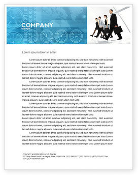 Careers/Industry: Career Opportunities Letterhead Template #03205