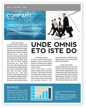 Careers/Industry: Career Opportunities Newsletter Template #03205