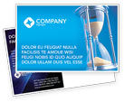 Business Concepts: Time Value Postcard Template #03207