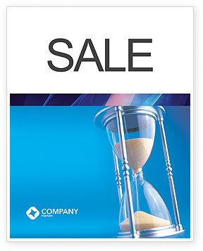 Business Concepts: Time Value Sale Poster Template #03207