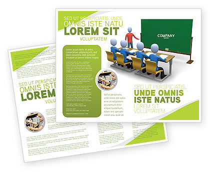 Education & Training: Modello Brochure - Classe di insegnamento #03209