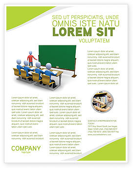 Back To School Flyer Template, Background in Microsoft Word ...