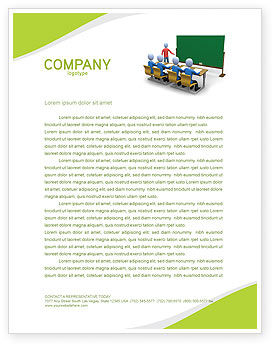 Teaching Class Letterhead Template