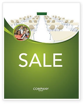 Education & Training: School Class Sale Poster Template #03212
