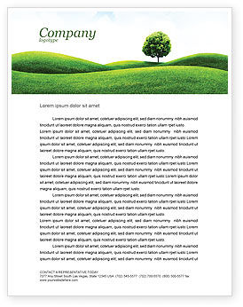 Nature & Environment: Modello Carta Intestata - Prato #03213