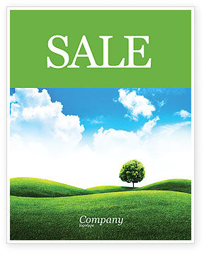Meadow Sale Poster Template