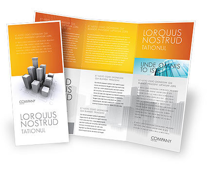Construction: Downtown Brochure Template #03217