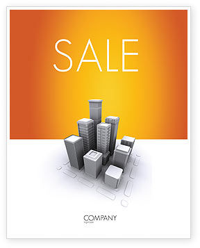 Construction: Downtown Sale Poster Template #03217