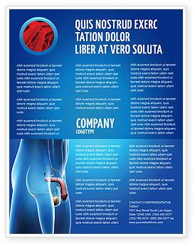 Medical: Plantilla de volante - órganos reproductores masculinos #03223