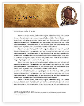 America: Cowboy Boots Letterhead Template #03224
