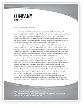 Business Teamwork Letterhead Template, 03228, Careers/Industry — PoweredTemplate.com