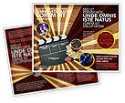 Art & Entertainment: Films and Cinema Brochure Template #03230