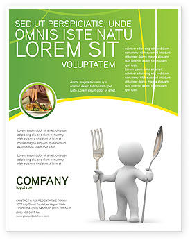 Meal Flyer Template