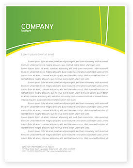 Meal Letterhead Template, 03236, Careers/Industry — PoweredTemplate.com