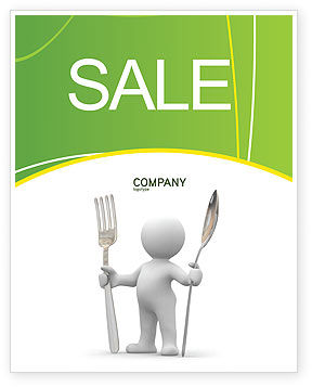 Meal Sale Poster Template, 03236, Careers/Industry — PoweredTemplate.com